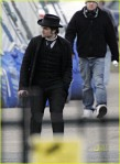 EXCLUSIVE: Robert Pattinson On Set Of 'Bel Ami' (USA ONLY)