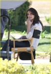 Ashley Greene Looking Lively And Lovely On Set!